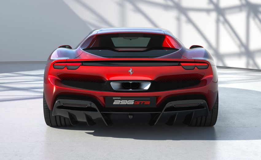 Ferrari 296 GTB debuts – 830 PS and 740 Nm V6 hybrid Image #1311956