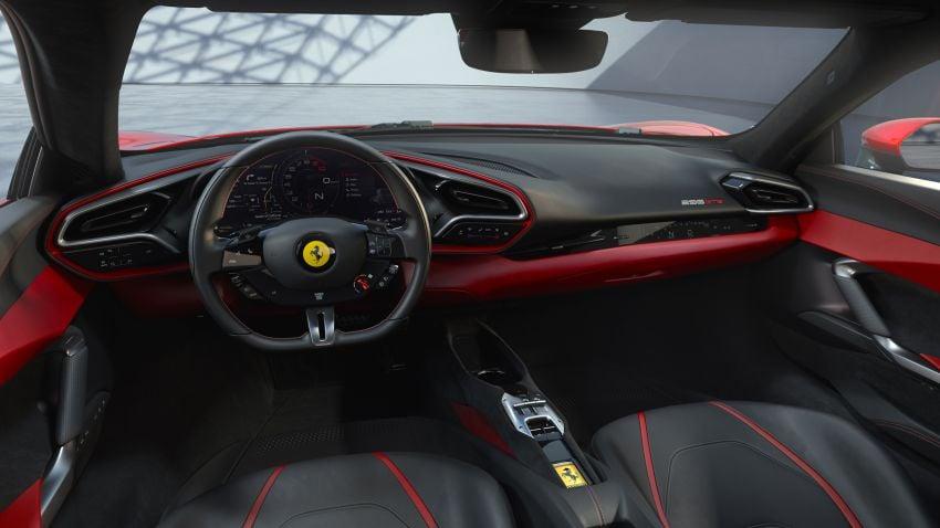 Ferrari 296 GTB debuts – 830 PS and 740 Nm V6 hybrid Image #1311950