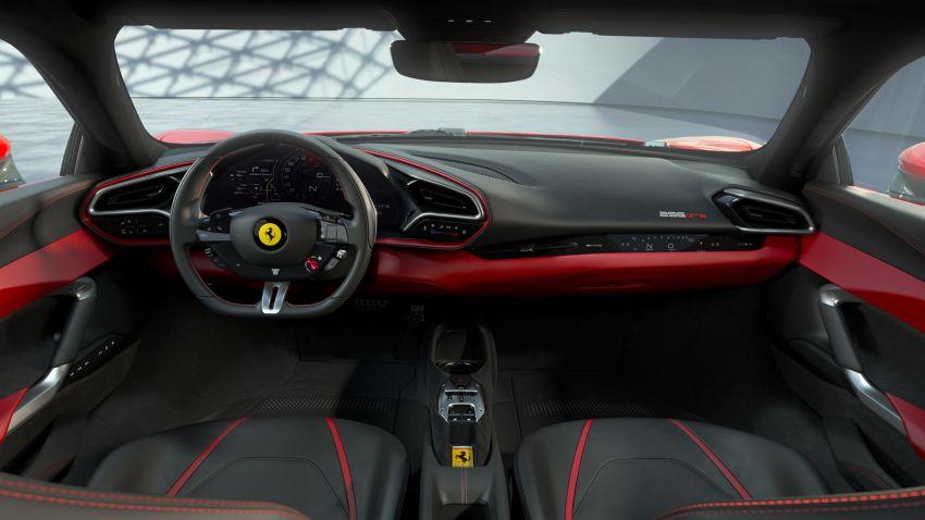 Ferrari 296 GTB debuts – 830 PS and 740 Nm V6 hybrid Image #1311951