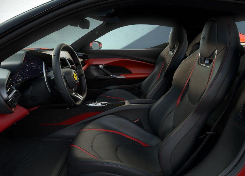 Ferrari 296 GTB debuts – 830 PS and 740 Nm V6 hybrid Image #1311952