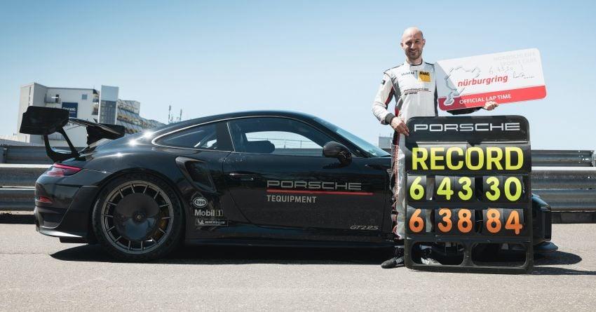 Porsche 911 GT2 RS dengan Manthey Performance Kit kini kereta produksi terpantas di Nürburgring – 6:43.3! Image #1311734