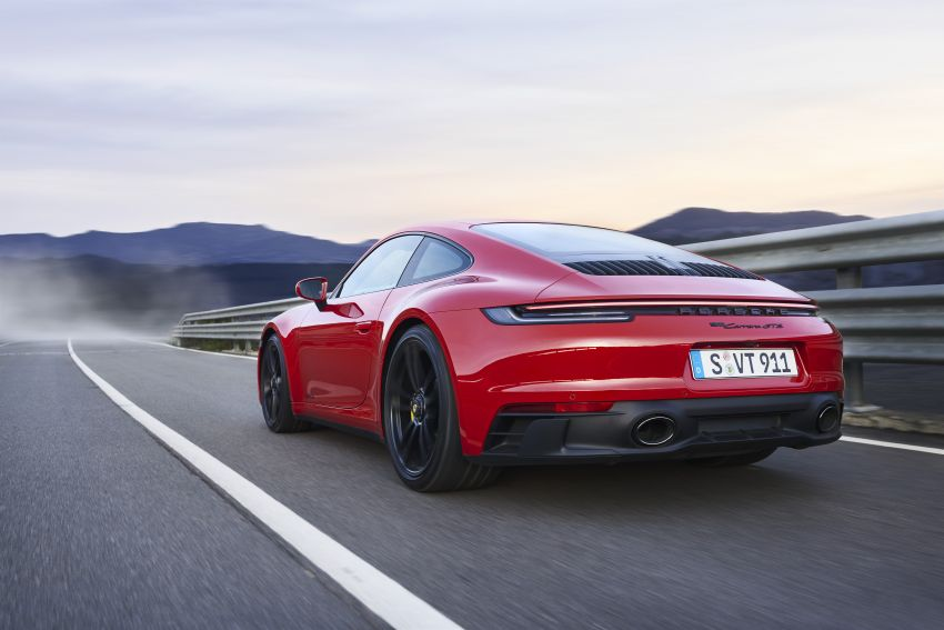 Porsche 911 992 GTS diperkenal – kuasa 480 PS dan 570 Nm, pakej Lightweight Design kurangkan 25 kg Image #1310947
