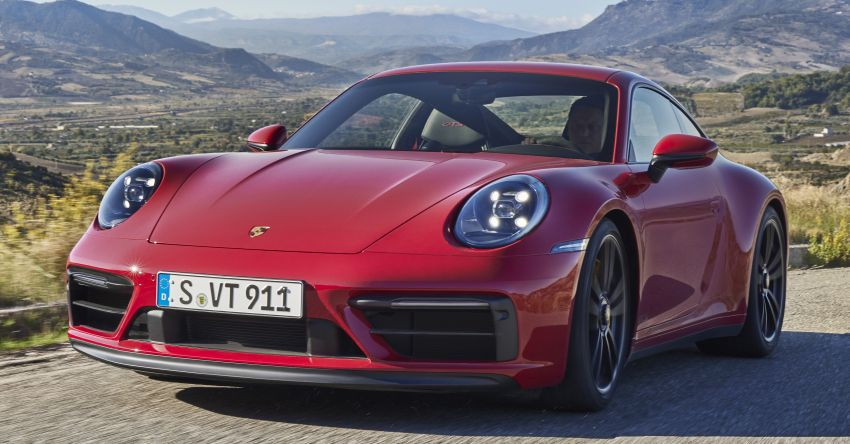 992 Porsche 911 GTS debuts – 480 PS and 570 Nm, available Lightweight Design package saves 25 kg Image #1310764