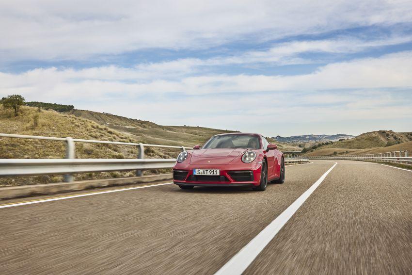 Porsche 911 992 GTS diperkenal – kuasa 480 PS dan 570 Nm, pakej Lightweight Design kurangkan 25 kg Image #1310946