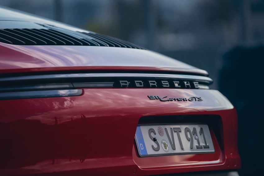 Porsche 911 992 GTS diperkenal – kuasa 480 PS dan 570 Nm, pakej Lightweight Design kurangkan 25 kg Image #1310936