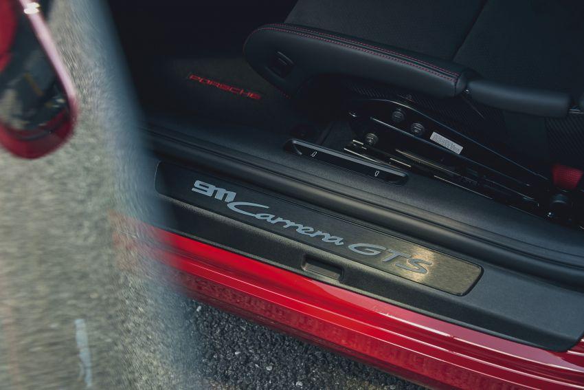 Porsche 911 992 GTS diperkenal – kuasa 480 PS dan 570 Nm, pakej Lightweight Design kurangkan 25 kg Image #1310943