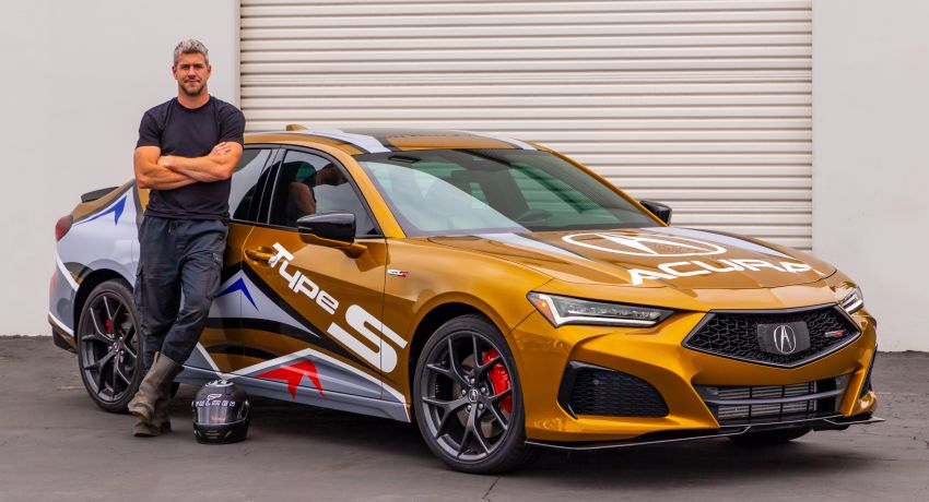 2021 Acura TLX Type S is pace car for the Pikes Peak hill climb – Ant Anstead to drive the 156-turn course Image #1307571