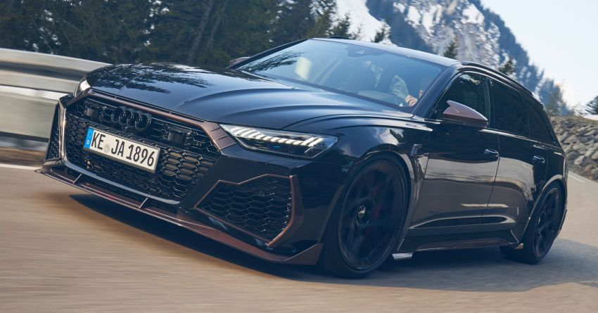Audi RS6 Johann Abt Signature Edition – all 64 units of the ABT exclusive sold out in a week; 800 PS, 980 Nm! Image #1308056