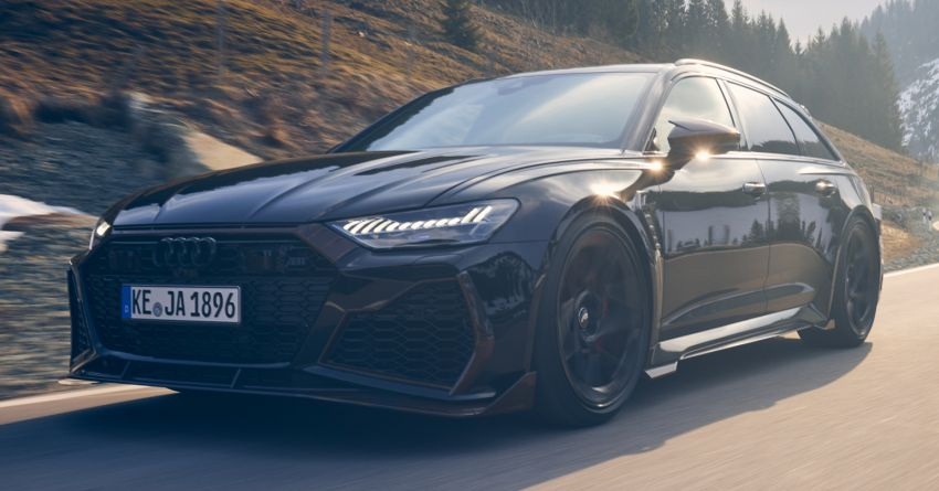 Audi RS6 Johann Abt Signature Edition – all 64 units of the ABT exclusive sold out in a week; 800 PS, 980 Nm! Image #1308057