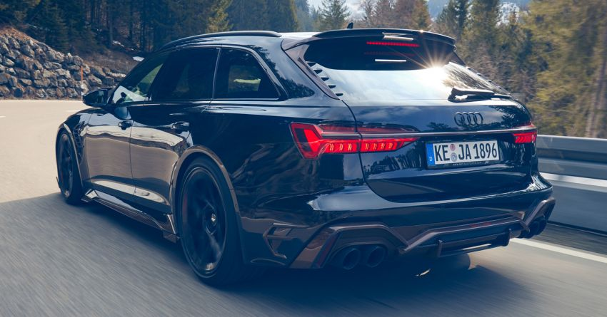 Audi RS6 Johann Abt Signature Edition – all 64 units of the ABT exclusive sold out in a week; 800 PS, 980 Nm! Image #1308058