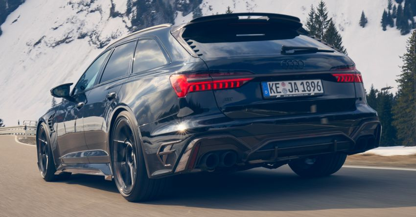 Audi RS6 Johann Abt Signature Edition – all 64 units of the ABT exclusive sold out in a week; 800 PS, 980 Nm! Image #1308059