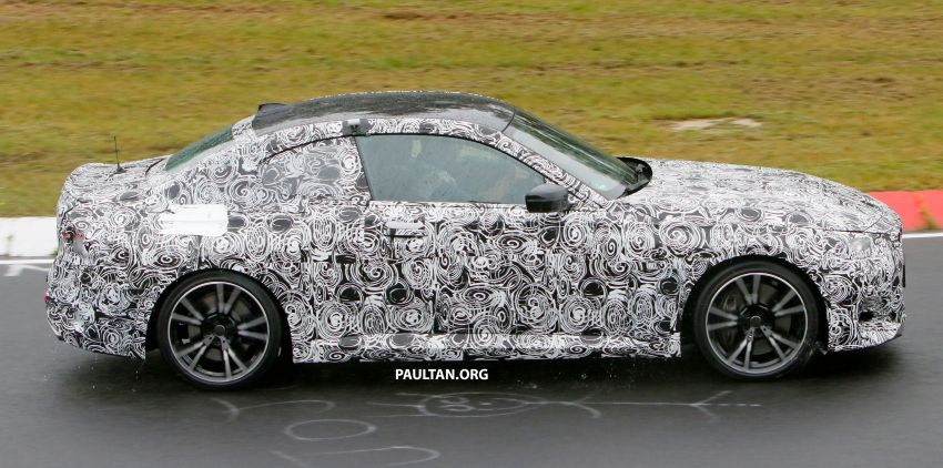 SPYSHOTS: 2022 BMW 2 Series Coupe with less camo Image #1311823