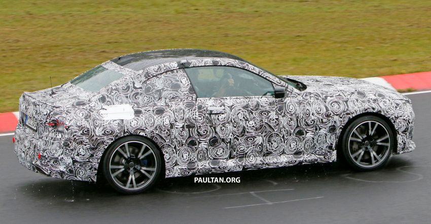 SPYSHOTS: 2022 BMW 2 Series Coupe with less camo Image #1311829