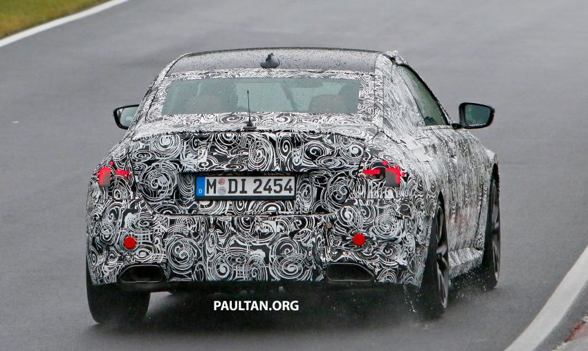 SPYSHOTS: 2022 BMW 2 Series Coupe with less camo Image #1311837