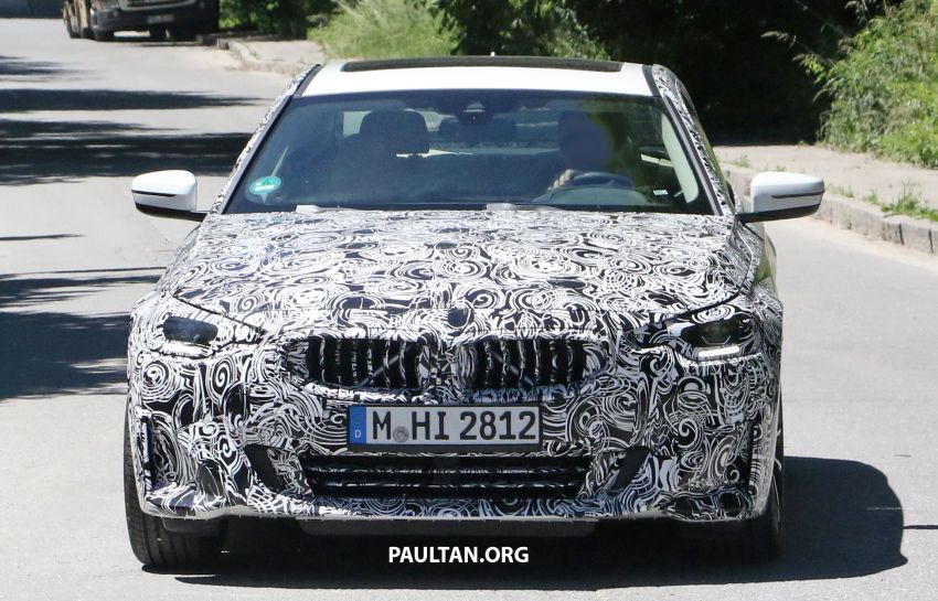 SPYSHOTS: 2022 BMW 2 Series Coupe with less camo Image #1311838