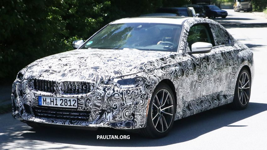 SPYSHOTS: 2022 BMW 2 Series Coupe with less camo Image #1311840