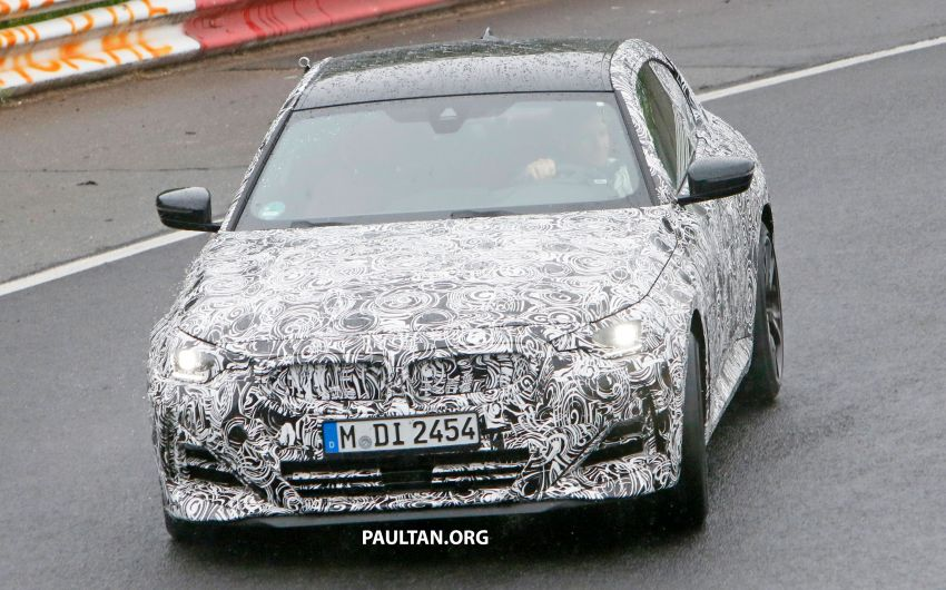 SPYSHOTS: 2022 BMW 2 Series Coupe with less camo Image #1311813