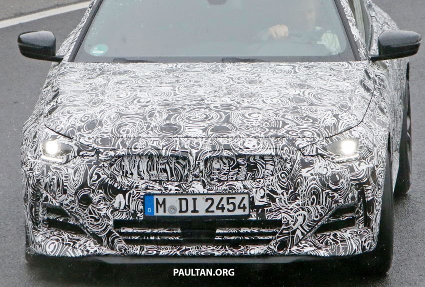 SPYSHOTS: 2022 BMW 2 Series Coupe with less camo Image #1311814