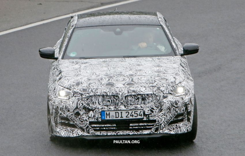 SPYSHOTS: 2022 BMW 2 Series Coupe with less camo Image #1311815