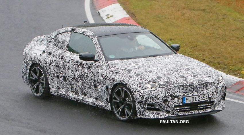 SPYSHOTS: 2022 BMW 2 Series Coupe with less camo Image #1311818