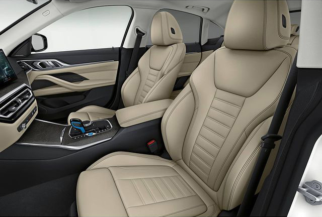 BMW i4 interior photos leaked ahead of EV's full debut Image #1301004