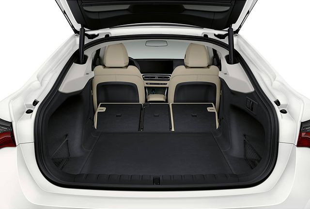BMW i4 interior photos leaked ahead of EV's full debut Image #1301005
