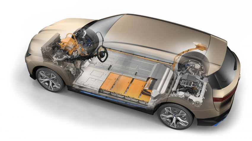 BMW iX fully detailed – power, range bumped slightly to up to 523 PS, 630 km; new M60 with over 600 PS Image #1302072