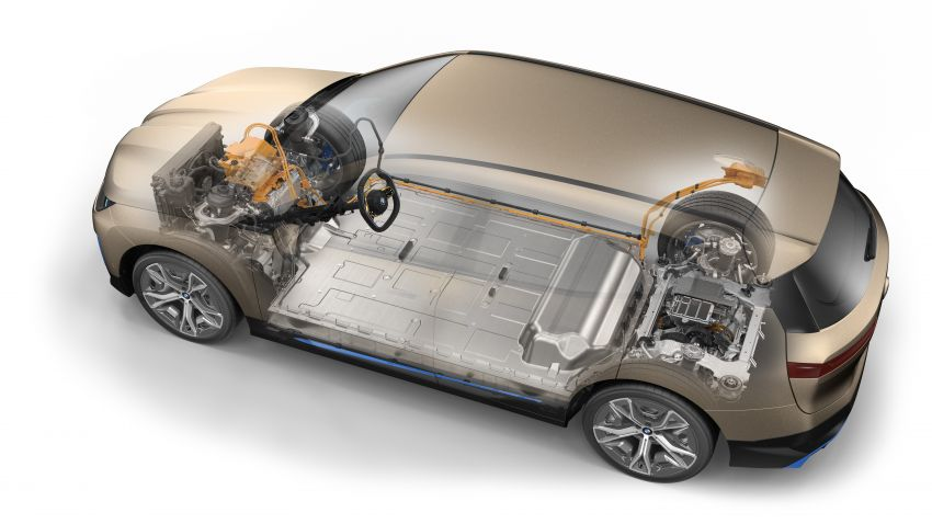 BMW iX fully detailed – power, range bumped slightly to up to 523 PS, 630 km; new M60 with over 600 PS Image #1302074