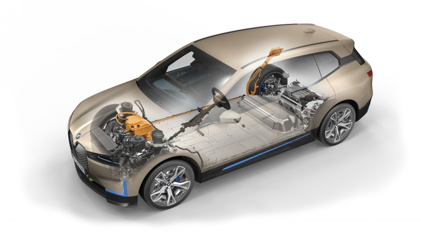 BMW iX fully detailed – power, range bumped slightly to up to 523 PS, 630 km; new M60 with over 600 PS Image #1302075