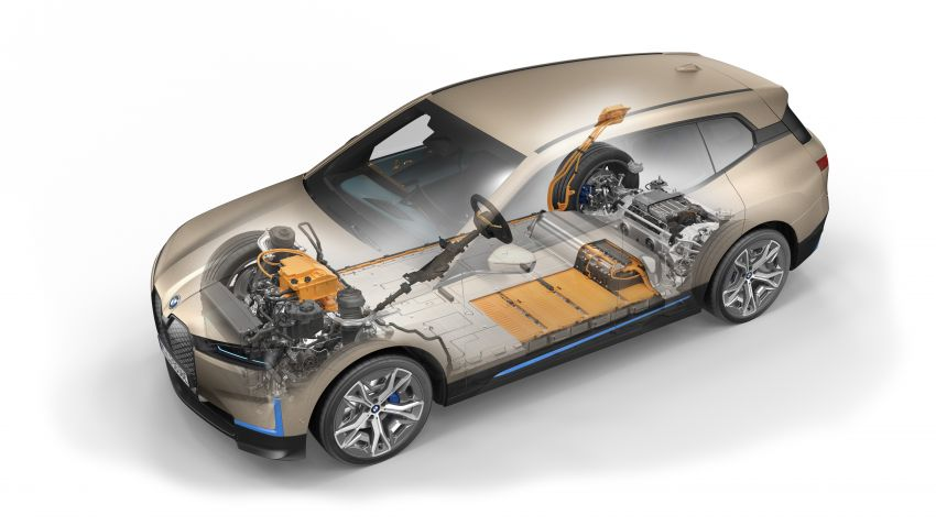 BMW iX fully detailed – power, range bumped slightly to up to 523 PS, 630 km; new M60 with over 600 PS Image #1302076