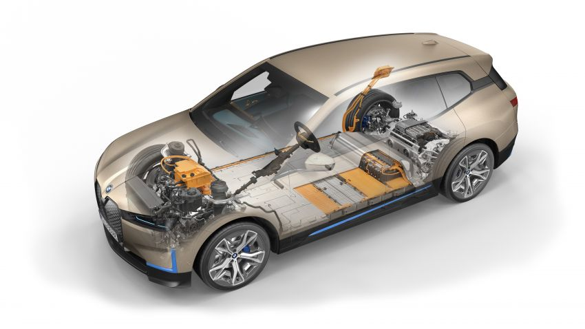 BMW iX fully detailed – power, range bumped slightly to up to 523 PS, 630 km; new M60 with over 600 PS Image #1302077