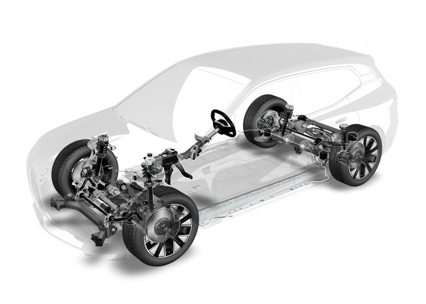BMW iX fully detailed – power, range bumped slightly to up to 523 PS, 630 km; new M60 with over 600 PS Image #1302080