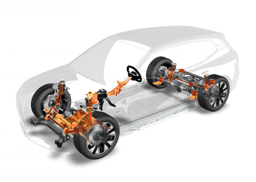 BMW iX fully detailed – power, range bumped slightly to up to 523 PS, 630 km; new M60 with over 600 PS Image #1302082