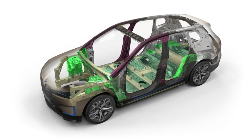 BMW iX fully detailed – power, range bumped slightly to up to 523 PS, 630 km; new M60 with over 600 PS Image #1302094