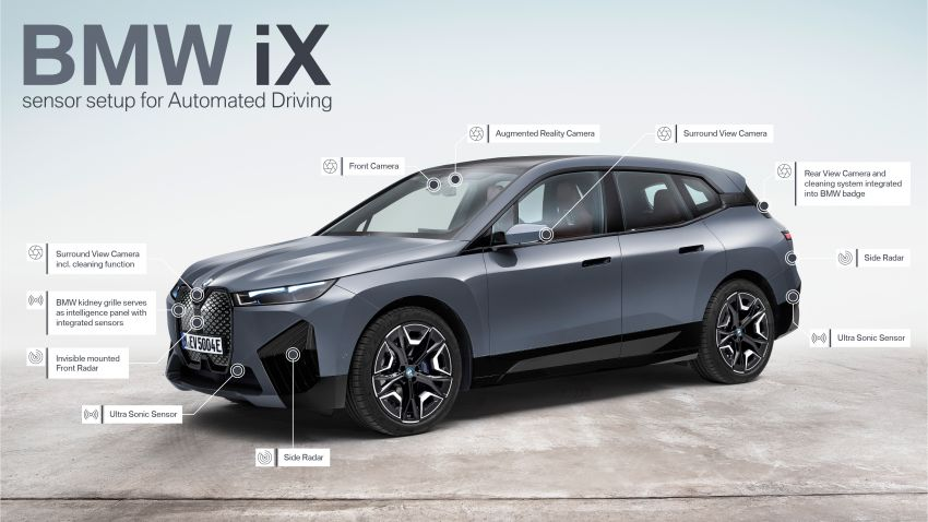 BMW iX fully detailed – power, range bumped slightly to up to 523 PS, 630 km; new M60 with over 600 PS Image #1302099
