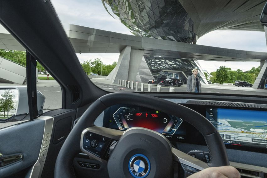 BMW iX fully detailed – power, range bumped slightly to up to 523 PS, 630 km; new M60 with over 600 PS Image #1302107