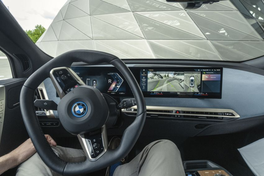 BMW iX fully detailed – power, range bumped slightly to up to 523 PS, 630 km; new M60 with over 600 PS Image #1302108
