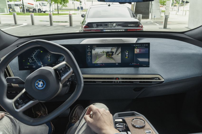 BMW iX fully detailed – power, range bumped slightly to up to 523 PS, 630 km; new M60 with over 600 PS Image #1302110