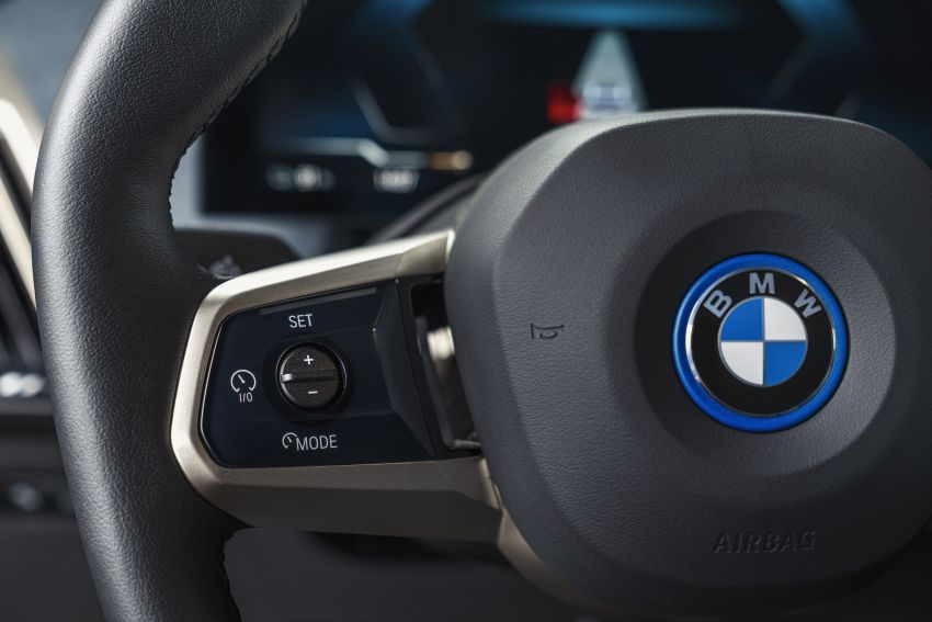 BMW iX fully detailed – power, range bumped slightly to up to 523 PS, 630 km; new M60 with over 600 PS Image #1302124