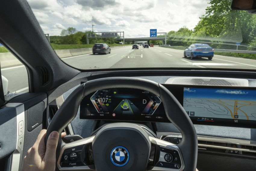 BMW iX fully detailed – power, range bumped slightly to up to 523 PS, 630 km; new M60 with over 600 PS Image #1302133