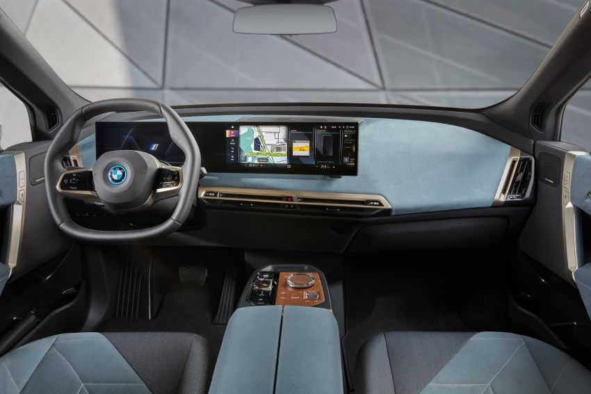 BMW iX fully detailed – power, range bumped slightly to up to 523 PS, 630 km; new M60 with over 600 PS Image #1301645