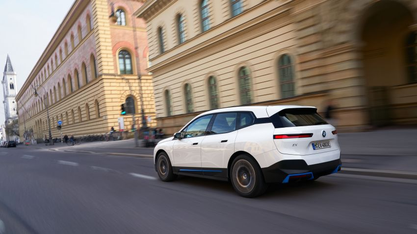 BMW iX fully detailed – power, range bumped slightly to up to 523 PS, 630 km; new M60 with over 600 PS Image #1301775