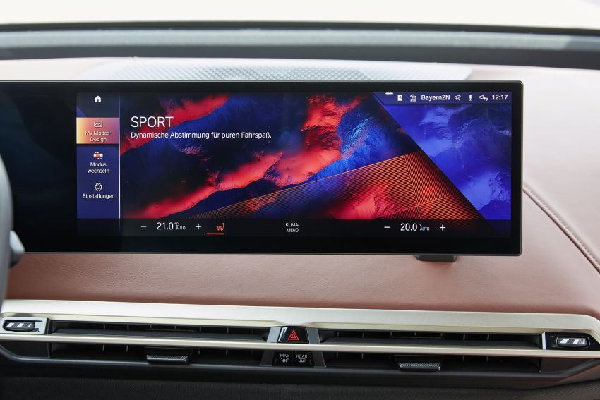 BMW iX fully detailed – power, range bumped slightly to up to 523 PS, 630 km; new M60 with over 600 PS Image #1301657