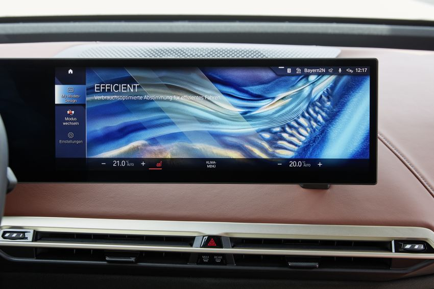 BMW iX fully detailed – power, range bumped slightly to up to 523 PS, 630 km; new M60 with over 600 PS Image #1301659