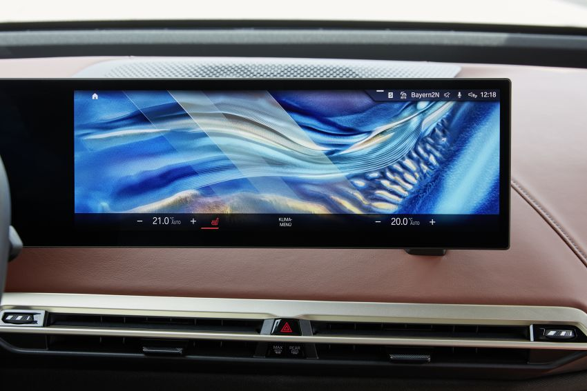 BMW iX fully detailed – power, range bumped slightly to up to 523 PS, 630 km; new M60 with over 600 PS Image #1301660