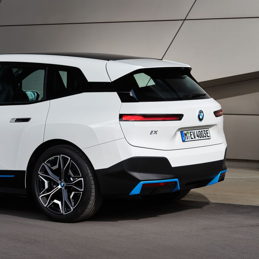 BMW iX fully detailed – power, range bumped slightly to up to 523 PS, 630 km; new M60 with over 600 PS Image #1301816