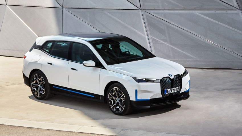 BMW iX fully detailed – power, range bumped slightly to up to 523 PS, 630 km; new M60 with over 600 PS Image #1301819