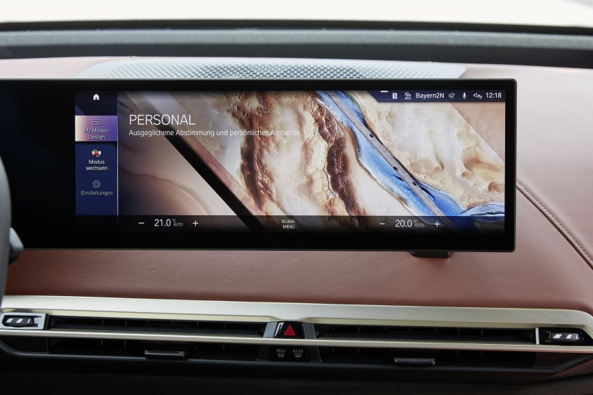 BMW iX fully detailed – power, range bumped slightly to up to 523 PS, 630 km; new M60 with over 600 PS Image #1301661