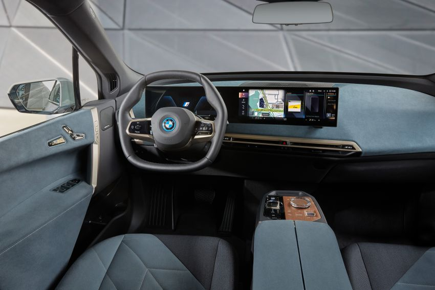 BMW iX fully detailed – power, range bumped slightly to up to 523 PS, 630 km; new M60 with over 600 PS Image #1301646
