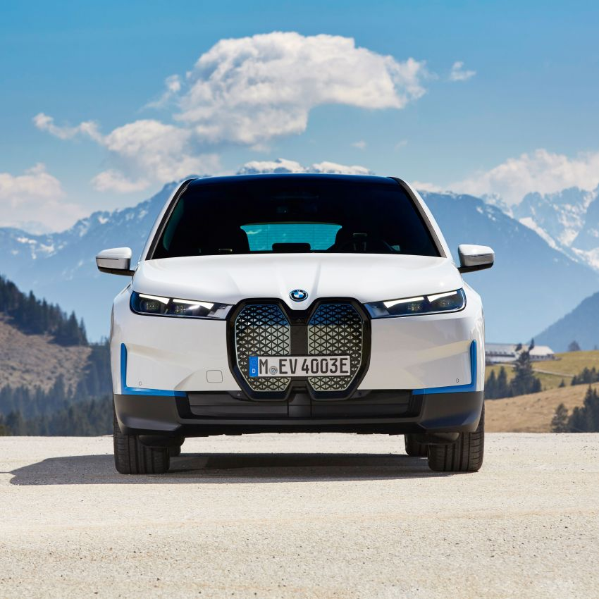 BMW iX fully detailed – power, range bumped slightly to up to 523 PS, 630 km; new M60 with over 600 PS Image #1301673